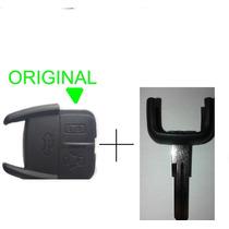 Capa Chave Gm Astra S10 2 Botões 100% Original + Chifre
