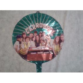 Balão Metalizado Carrosel 45x45cm - Kit C/ 24 Balões