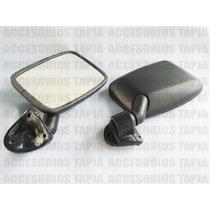 Espejo Retrovisor Color Negro Para Combi 1800 De 3 Tornillos