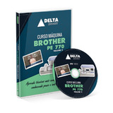 Curso Dvd Máquina Brother Pe770 - Volume 1