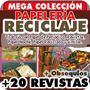 Reciclaje Papel Periódico Maché Y Más Revistas Papelería