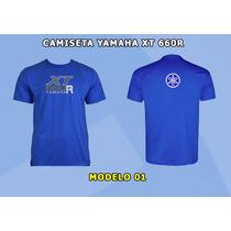 Camiseta Bordada Yamaha Xt 660r (yamaha, Xt, 660r)