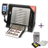 Impressora Hiti S420 + Papel Ribon 50 Fotos +100 Carteirinha