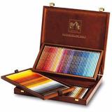 Lápis Aquarelável Caran Dache Supracolor 120+ Apondador Mesa