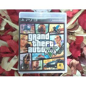 Gta V - Mídia Física - Grand Theft Auto V - Pt Br - Ps3