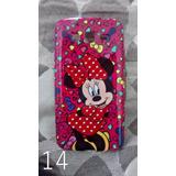 Capa Case Samsung Grand Duos Flores Perolas Minnie Mickey