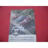 Folleto Agencia Nash 1951 No Manual No Insignia Auto Antiguo