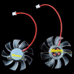 Cooler Placa De Video - Dist. Parafusos 27mm Diametro 55mm