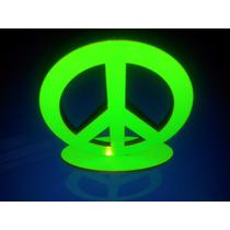 Figura Símbolo Paz, Mdf Y Vinilo De Color, Muy Lindo !!!