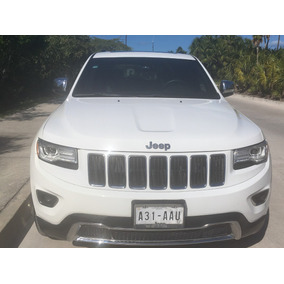 Jeep Grand Cherokee 5p Limited Lujo 4x2 V6 3.6 Aut Impecable