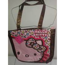 Bolsa Mochila Grande Rosa Hello Kitty! Envio Gratis