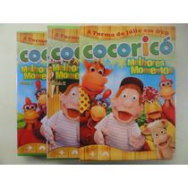 Dvd - Box Cocoricó - Melhores Momentos - 2 Dvds