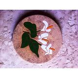 Suporte Redondo Charmoso De Cerâmica Vitrificada Para Uso Em