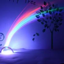 Lampara Arco Iris Luz De Noche Decoracion Niños