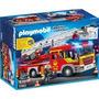 Playmobil Camion Bombero Original 5362