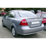 Refuerzo Parachoque Trasero Chevrolet Aveo Sedan 2010-