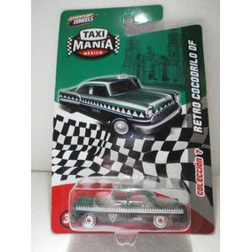 Taxi Mania Camion Retro Cocodrilo Df Verde 1:64