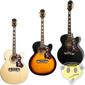 Violao Epiphone Jumbo Ej200 Ce Gibson Jumbo - Kadu Som