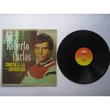Lp Vinilo Roberto Carlos Canta A La Juventud 1964