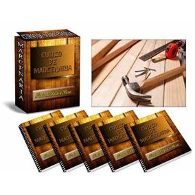 Curso 21 Dvds De Marcenaria E Carpintaria - A13