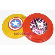 20 Frisbee Souvenir Personalizado Monster High Frozen 16,5cm