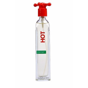 Perfume Hot Benetton, Para Dama, 100ml- Original Importación