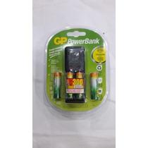 Cargador Recargable Powerbank 2 Aa /aaa Nimh + 2 Aaa/aa