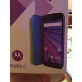 Motorola Moto G, Pantalla Gorila Glass, Cámara 13 Mp