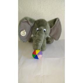Pelúcia Elefante Game Time Toys & Playthings - 21 Cm