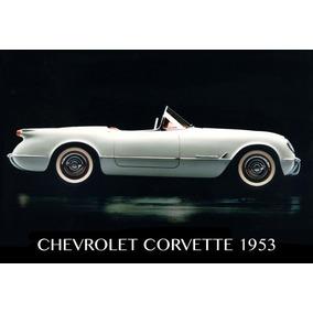 Chevrolet Corvette - Autos De Lujo Y Colección - Cuadros