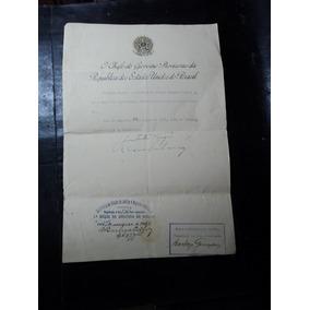 Getúlio Vargas E Oswaldo Aranha (carta)