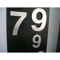 Números Acero Inoxidable Para Casa Residencia Oficina