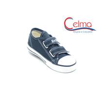 Ck206001p All Star Infantil Com Velcro Ótimo Para Escola