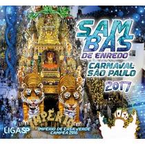 Cd Samba Enredo Carnaval 2017 Escola De Samba De Sp Duplo