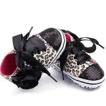 Zapatos Tenis Para Bebe De Moda Liston Y Lentejuela Num 11