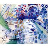 Fogos De Artifício Barcos Mar Pintor Raoul Dufy Tela Repro