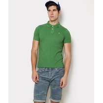Hang Ten Camisas Tipo Polo, Originales, Caballero, Verde