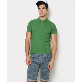 Hang Ten Camisas Tipo Polo, Originales, Caballero, Verde