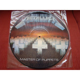 Lp Metallica - Master Of Puppets - 1986 Uk - Picture - 2a Ed
