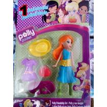 Bonecas Polly Pocket Boneca + Acessórios 4 Modelos