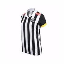 Camisa Feminina Nike Santos Ii 13/14 - Original