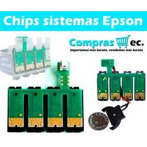 Chip Epson Para Sistemas De Tinta Continua Epson