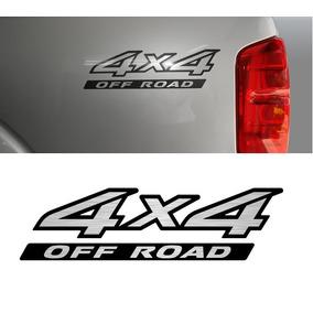 Emblema Adesivo 4x4 Off Road Nissan Frontier 09 Unidade