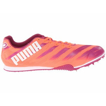 Spikes Tenis Puma Atletismo Velocidad Talla 22.5 A 25