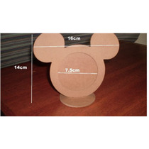 Kit Com 40 Unidades De Porte Retrato Mickey Ou Minnie