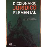 Diccionario Juridico Cabanellas