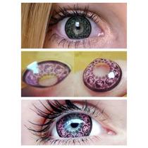 Pupilentes Lentes Hello Kitty Circle Lenses Originales