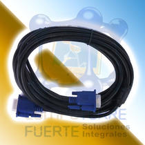 Cable Vga 5 Metros Monitor Proyector Pantalla Comtf