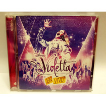 Violetta Cd+dvd En Vivo Excelente Estado Original Disney
