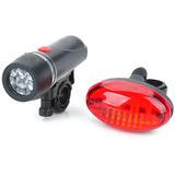 Sinalizador Lanterna Farol Luz Led Acessório Bicicleta Bike
